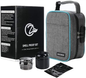 Ozchin Large Smell Proof- Travel Stash Bag