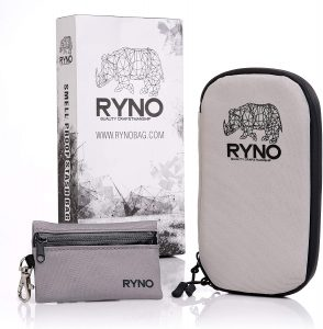 RYNO Smell Proof Bag W/Combo Lock - Best Weed Carrying Case
