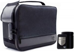 Extra Large Smell Proof Case with Combination Lock by Herb Guard - Smell Proof Stash Bag