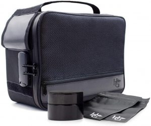 Herb Guard Black Large Smell Proof Case and Stash Box